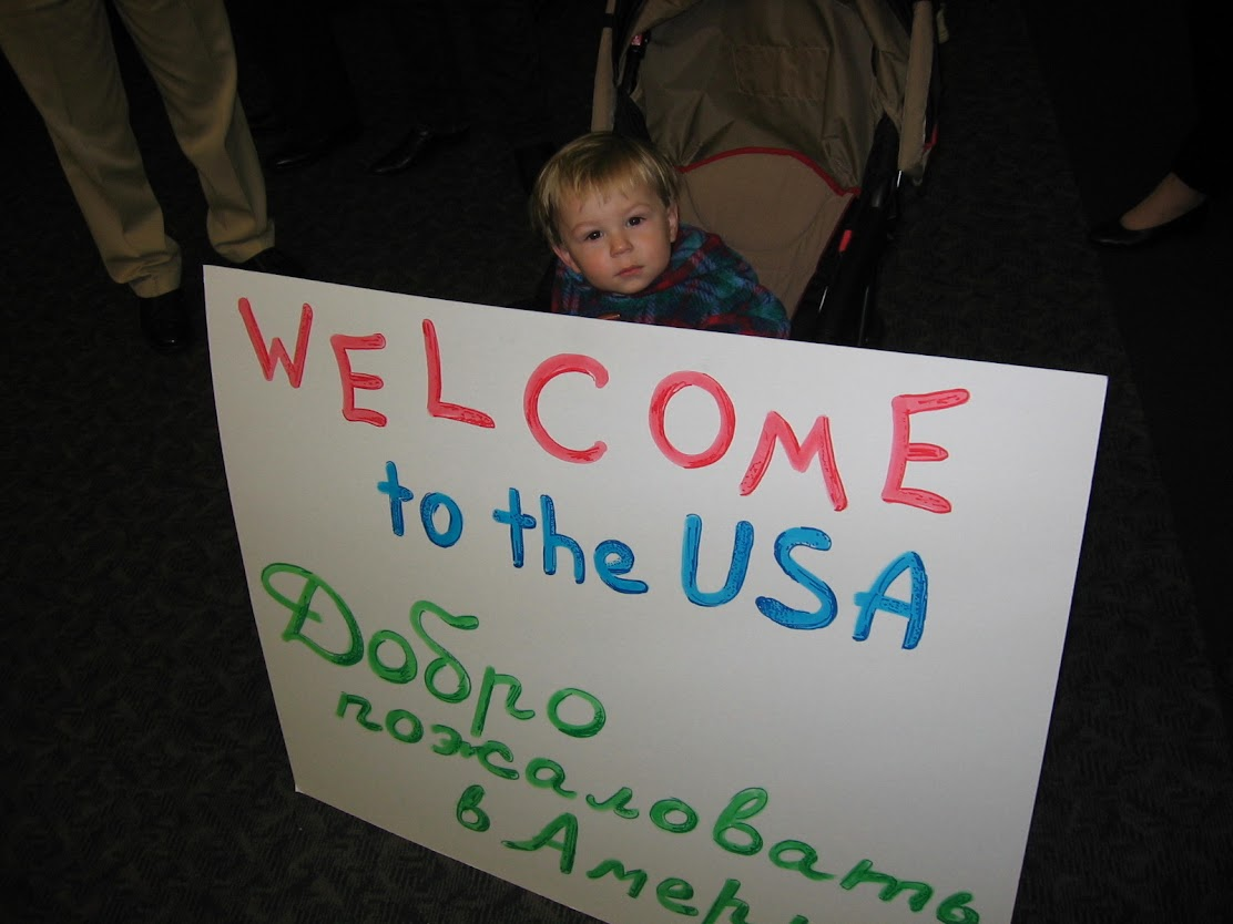 December 2005 at the airport
